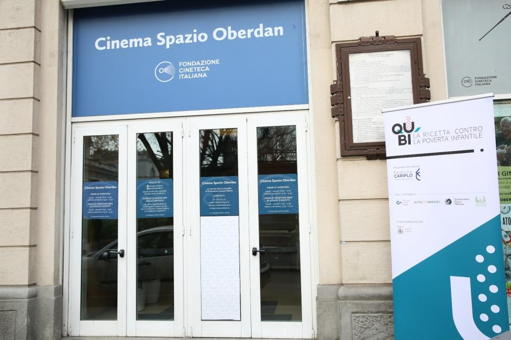 Lo Spazio Oberdan di Milano che ha ospitato l'evento di Ricetta QuBì