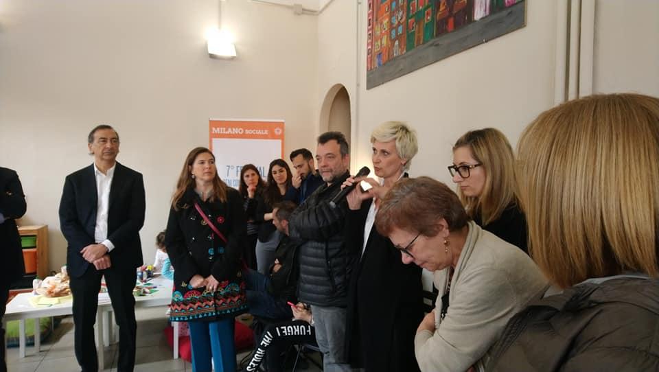 Qubì Loreto - Sindaco Giuseppe Sala