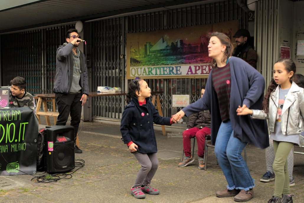 qubì gallaratese - festa mercato comunale