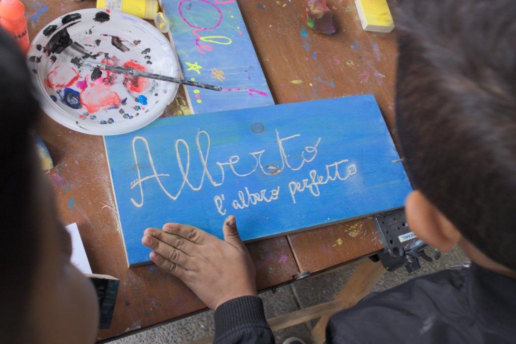 qubì gallaratese - festa mercato comunale laboratorio