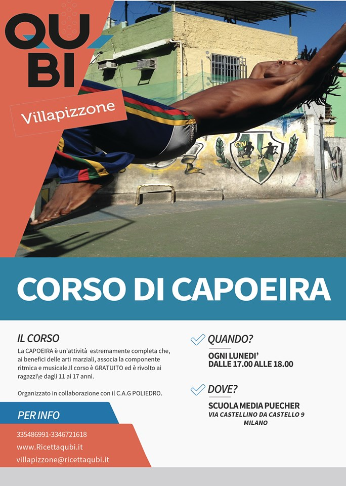 corso capoeira villapizzone